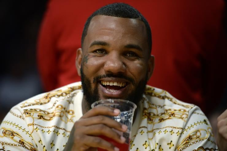 The Game smiling