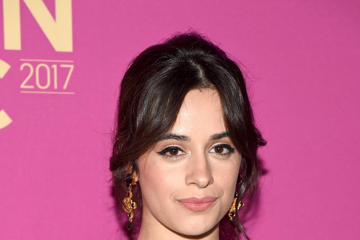 Camila Cabello Makes Florals Look Fierce On Her Solo Album's New Cover