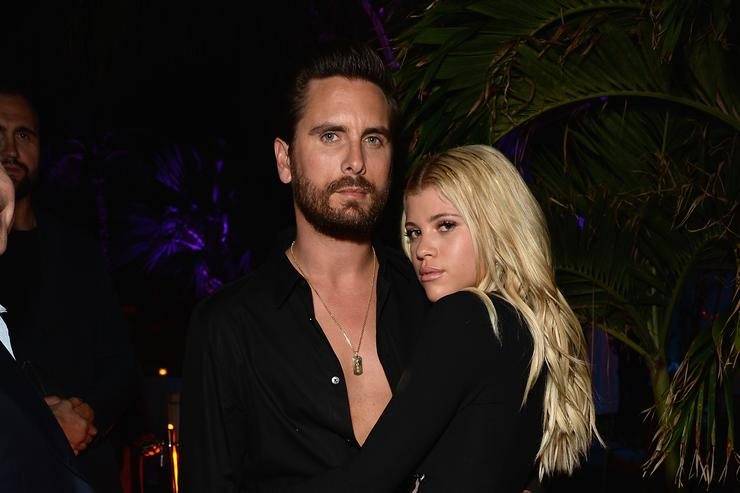 Scott Disick and Sofia Richie Heating Up Miami Leads Today's Star Sightings