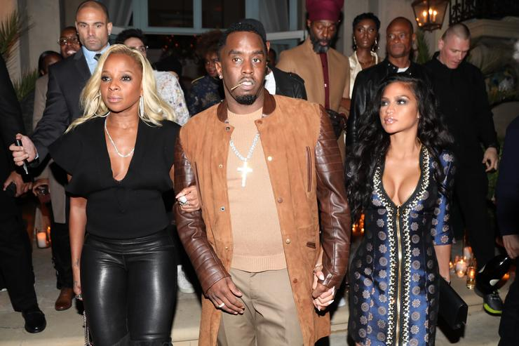Diddy and his girlfriend Cassie