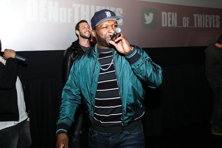 50 Cent at 'DEN OF THIEVES' SPECIAL SCREENING