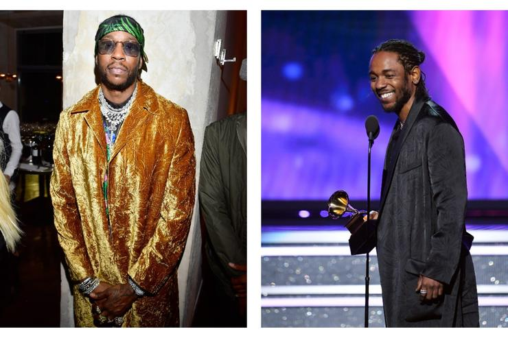 2 Chainz and Kendrick Lamar