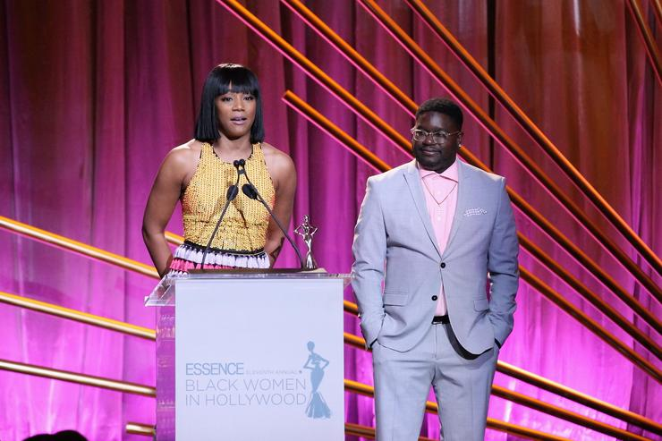 Speeches at Essence pre-Oscar lunch highlight being present