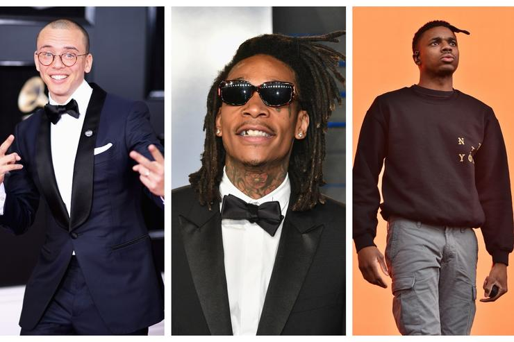 Logic, Wiz Khalifa & Vince Staples are FIRE EMOJI