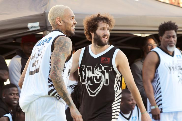 Chris Brown and Lil Dicky