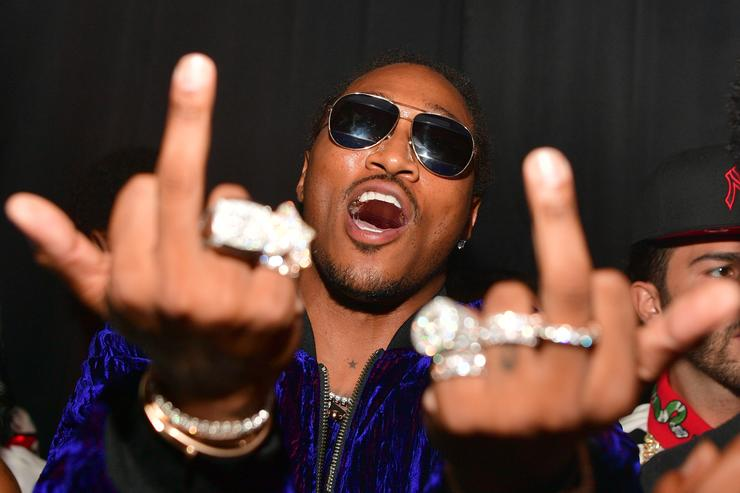 Future giving the middle finger