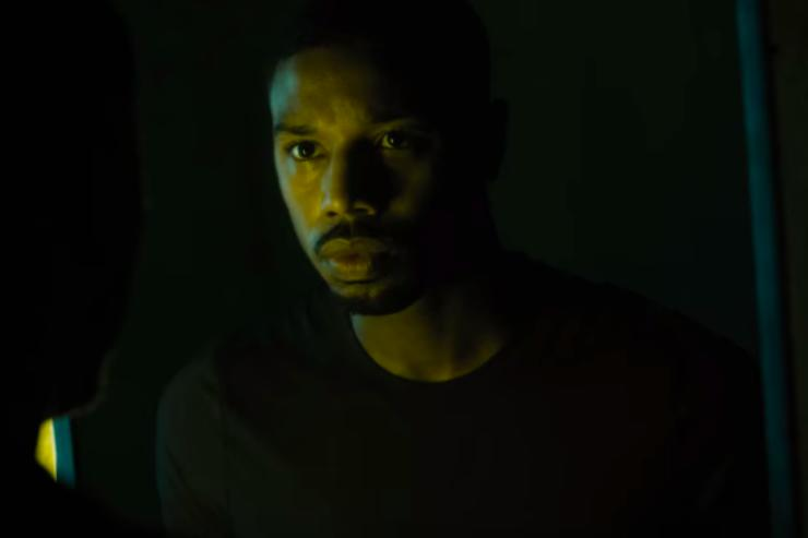 Jordan is straight fire in the trailer for HBO's 'Fahrenheit 451'