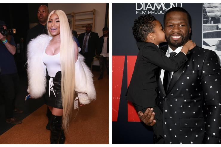 Nicki Minaj and 50 Cent on top 100