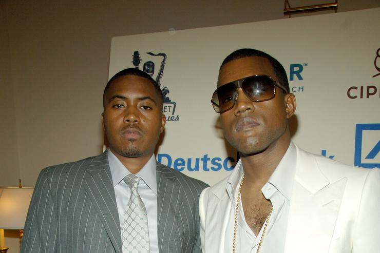 Kanye West Announces Release Date For Nas Album