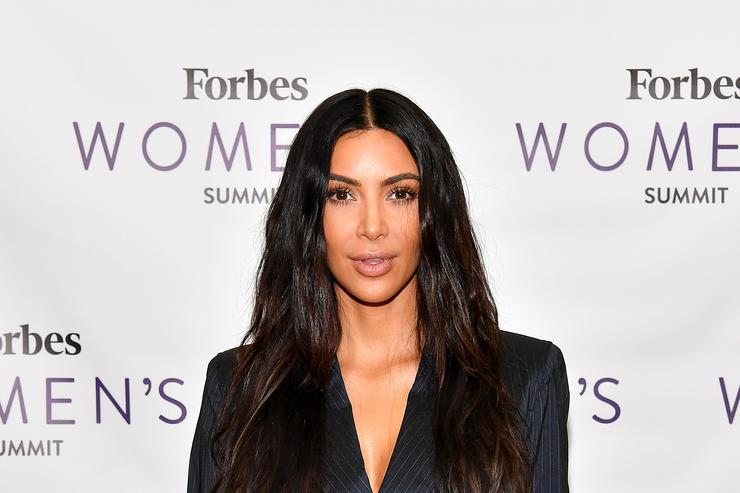 Kim Kardashian Posted Naked Pictures in Honor of Her New Fragrance