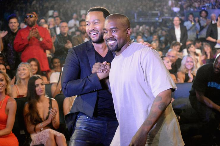 Kanye: 'I stand my ground' after John Legend criticizes Trump support