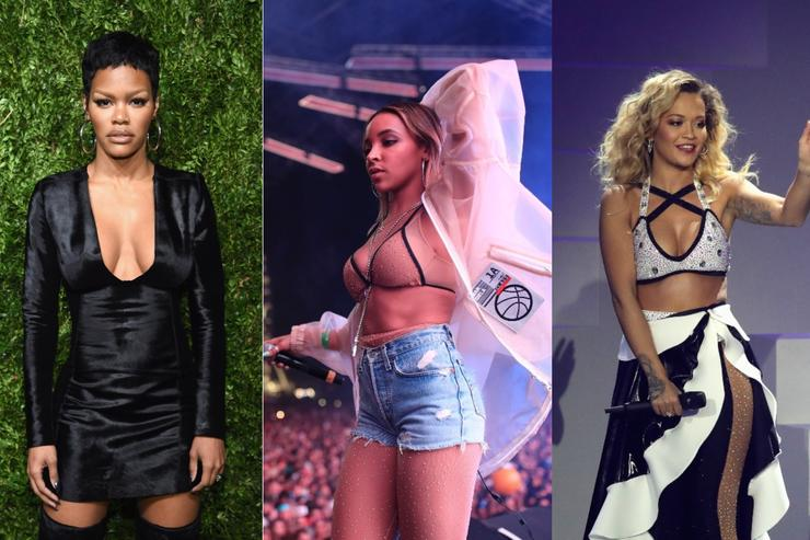 Teyana Taylor, Tinashe and Rita Ora with label delays