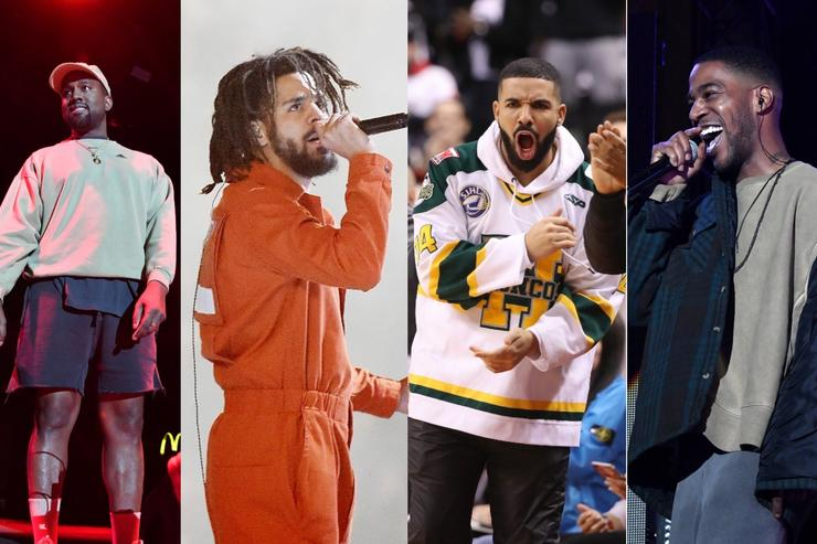 Kanye West, J. Cole, Drake & Kid Cudi 2018 is exciting for rap