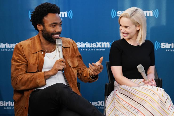 Donald Glover Imagines Lando Film as 'Frasier In Space