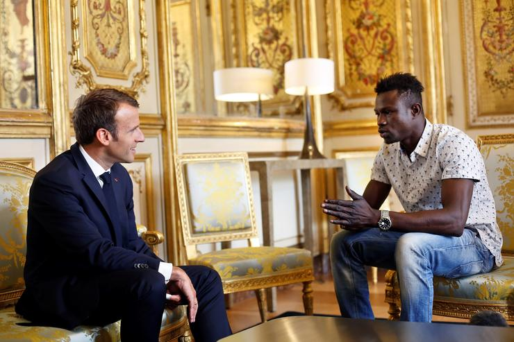 France hails Malian hero who saved toddler from Paris balcony