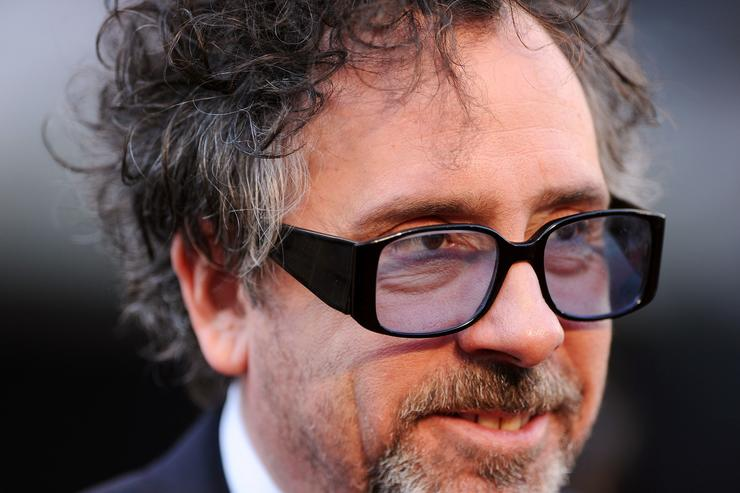 Tim Burton Closeup