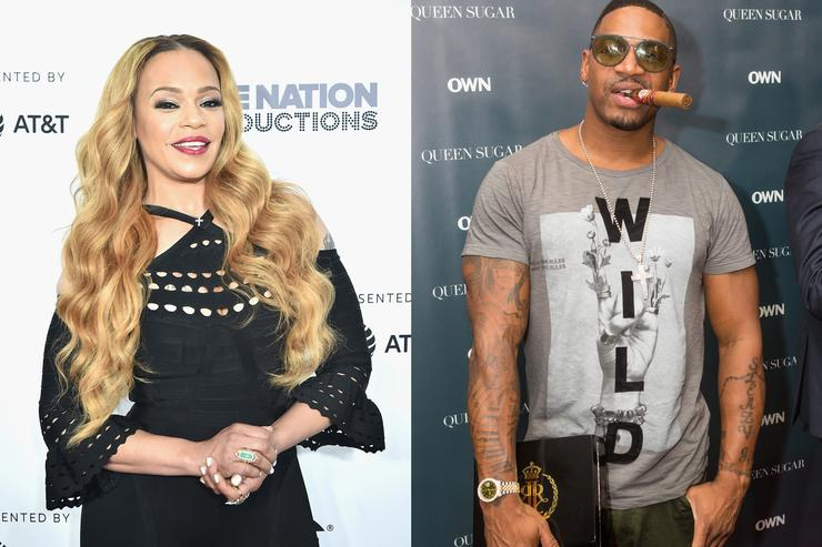 Faith Evans ignores allegation that husband Stevie J. cheated, got woman pregnant
