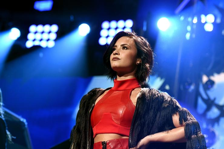Demi Lovato's 'Sober' Reenters The Billboard Chart After Apparent Overdose