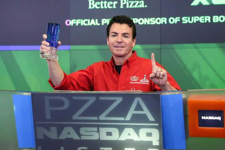 Papa John's blames Papa John for big sales decline