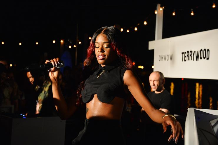 Azealia Banks claims she's been waiting for Grimes at Elon Musk's home