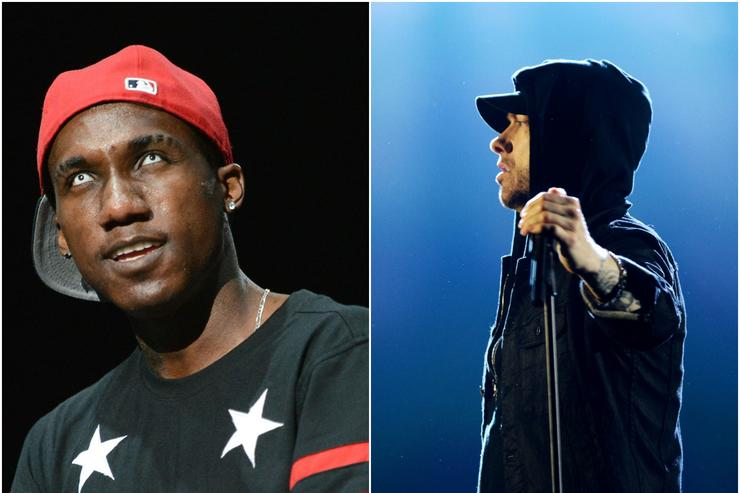 Eminem calls out Tyler, The Creator with homophobic slur on