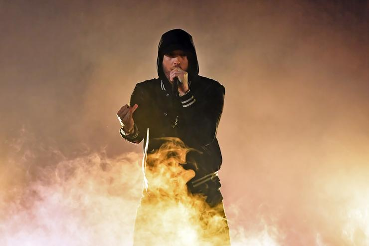 Eminem regrets using homophobic slur in new album