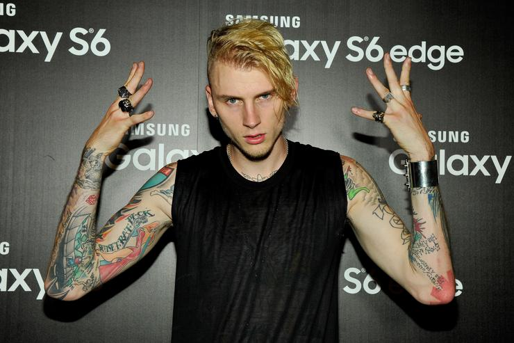 Machine Gun Kelly Hits Back at Eminem During Concert