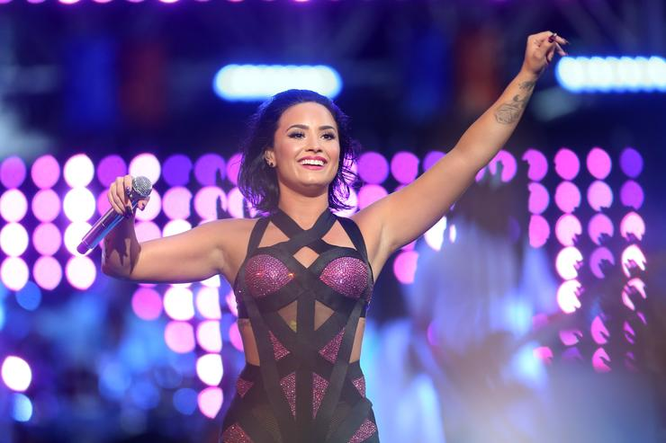 How Demi Lovato Is Staying Committed to Her Health Outside of Rehab