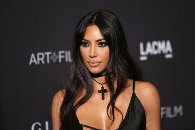 Kim Kardashian Jokingly Threatens to Cut Tristan Thompson