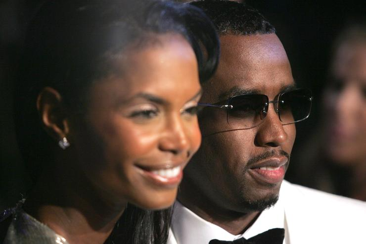 Combs, other celebs say goodbye to Kim Porter with fireworks