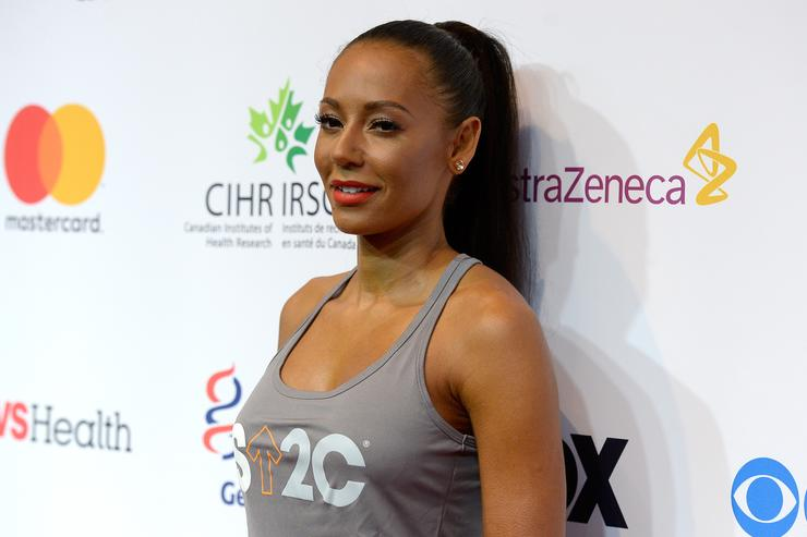 Mel B keeps cut out ex tattoo in a jar