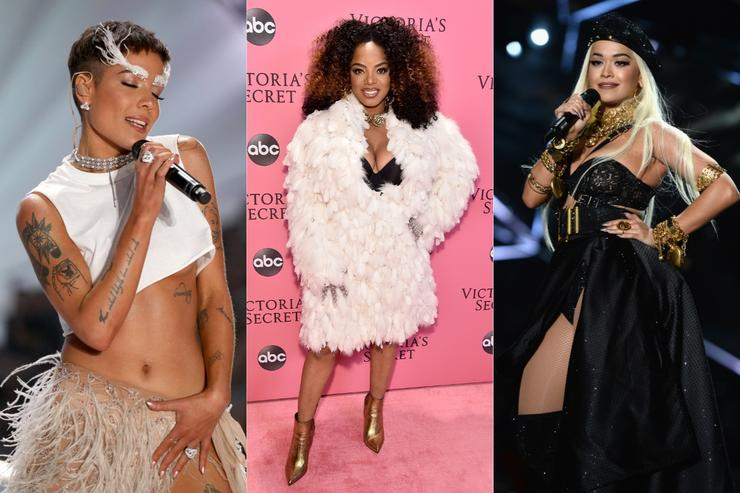Rita Ora Halsey Leela James Sultry Victoria S Secret Performances