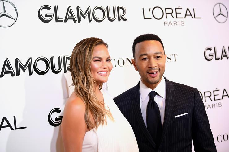 Chrissy Teigen's Son Gets Corrective Helmet And Twitter Responds Adorably
