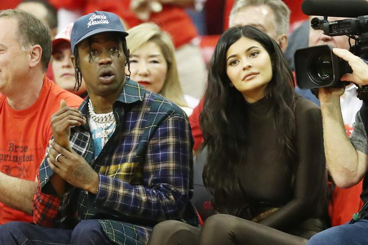 Kim Kardashian 'doesn't know' if Kylie Jenner secretly Wednesday  Travis Scott