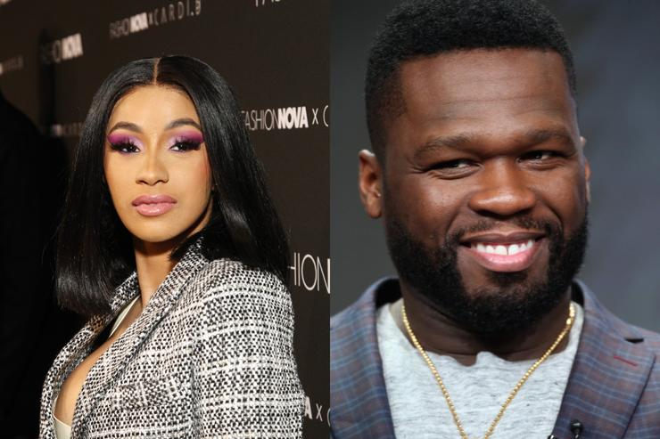 Slikovni rezultat za 50 Cent urges Cardi B to call off divorce