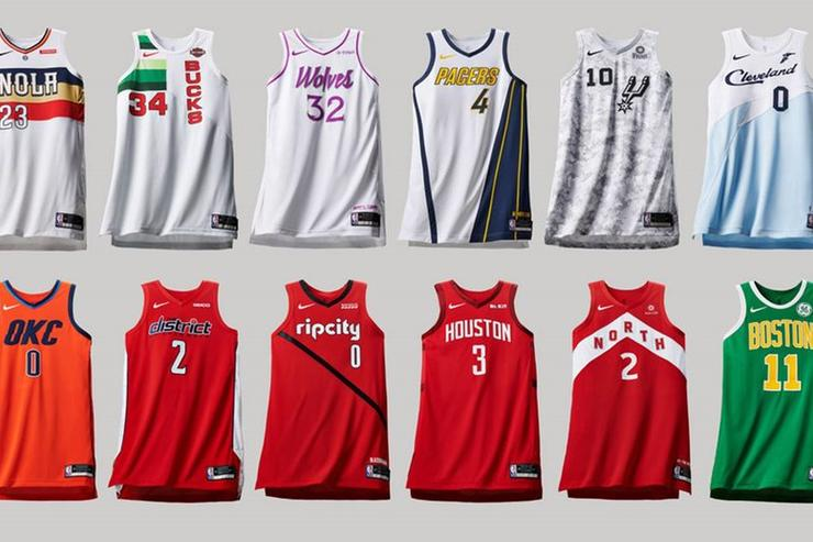 "20416c9df Nike Reveals NBA ""Earned Edition"" Jerseys For Last Year s Playoff Teams"