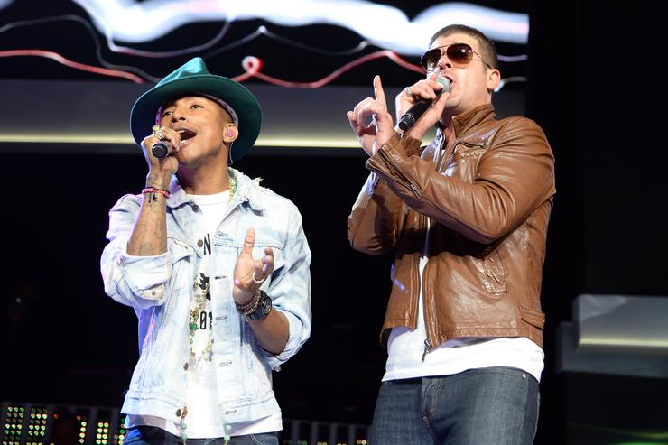 Robin Thicke, Pharrell Williams finally settle 'Blurred Lines' lawsuit