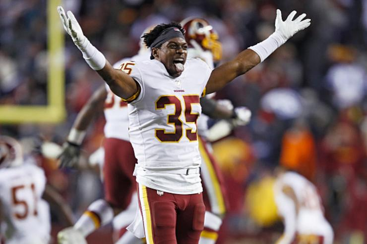 Redskins' Nicholson arrested, charged with assault & battery