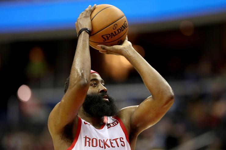Watch the Rockets drop a record-setting 26 3-pointers
