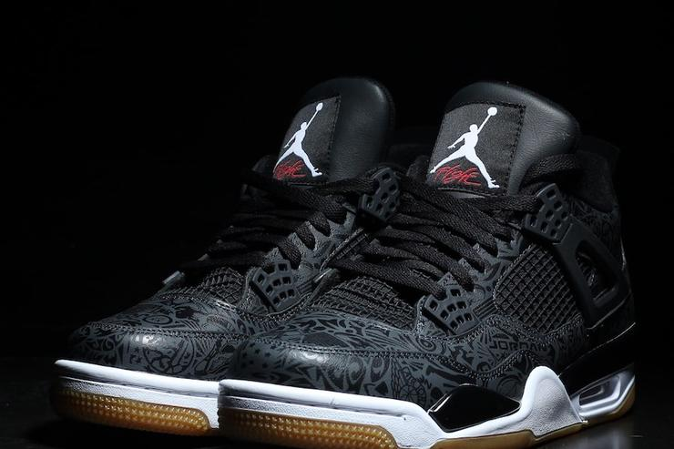 "Black ""Laser"" Air Jordan 4 Releasing In January  New Images 90042dd7a"