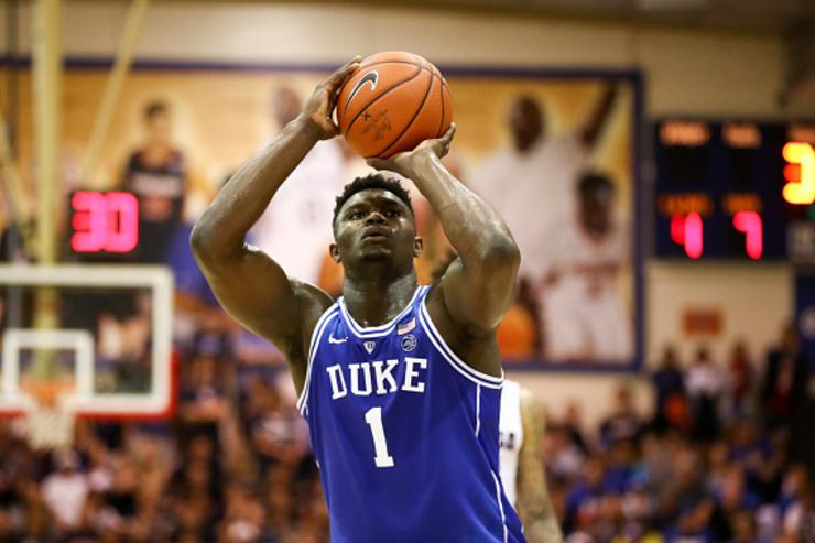 Williamson helps No. 2 Duke top unbeaten Texas Tech