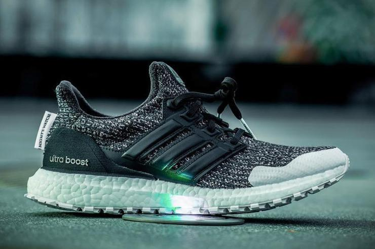 "more photos da1b2 54162 Game Of Thrones x Adidas UltraBoost ""Nights Watch"" First Loo"
