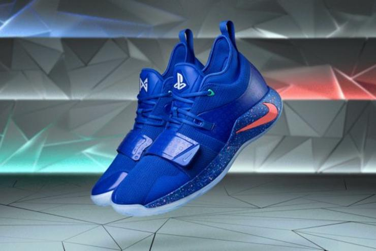 Playstation X Nike Pg 2 5 Releasing In Royal Colorway Purchase Links