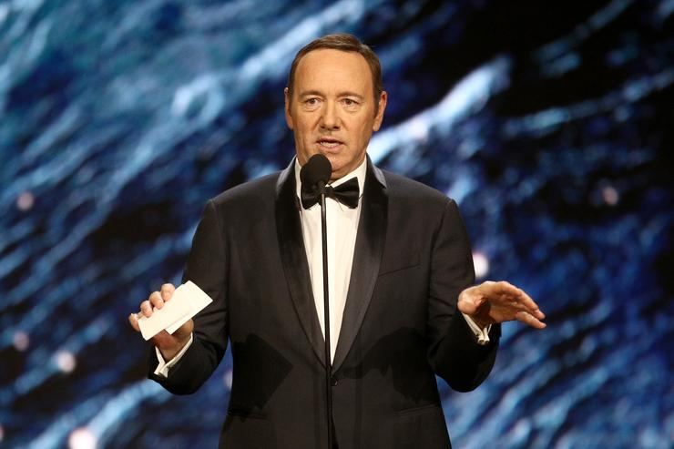 Kevin Spacey spotted in Baltimore as he awaits Nantucket arraignment