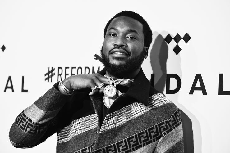 meek mill hints at being in love hides face of possible new girlfriend