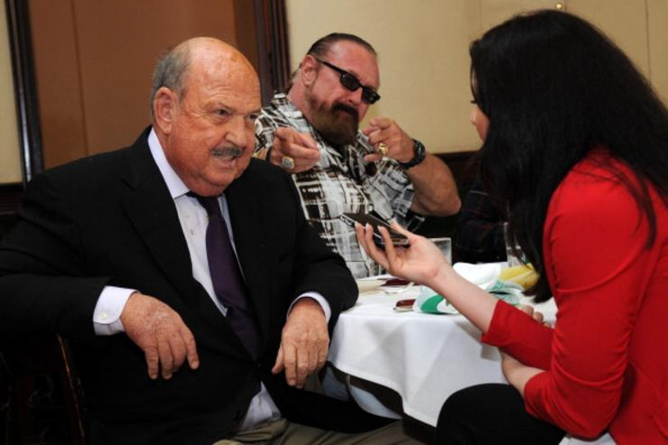 'Mean Gene' Okerlund, famed wrestling announcer, dies at 76