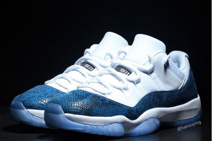 "Air Jordan 11 Low ""Snakeskin"" Release Details Revealed  New Images c3e6dc7746"