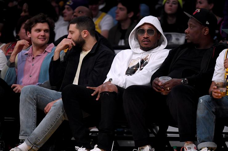 Future sitting courtside