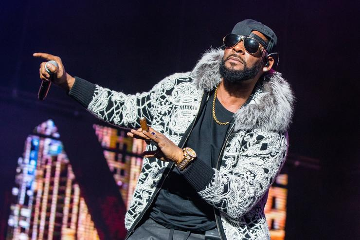 R Kelly visited by police at birthday party