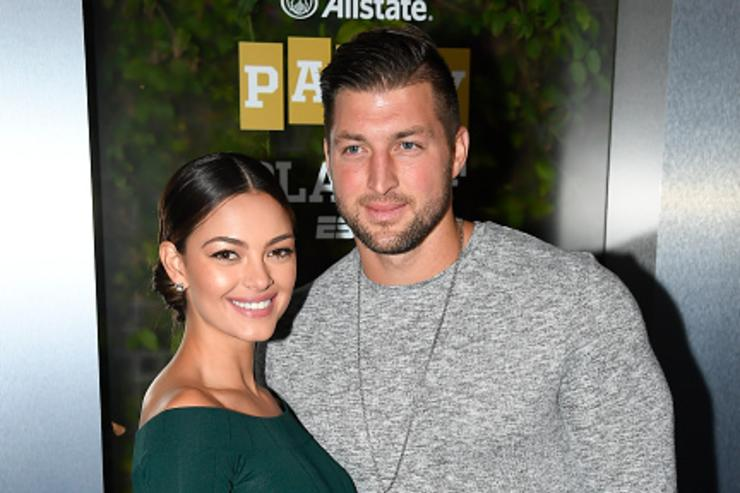 Sorry ladies. Tim Tebow is officially off the market
